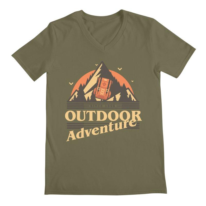 Outdoor Adventure Men's Regular V-Neck by Mountain View Co