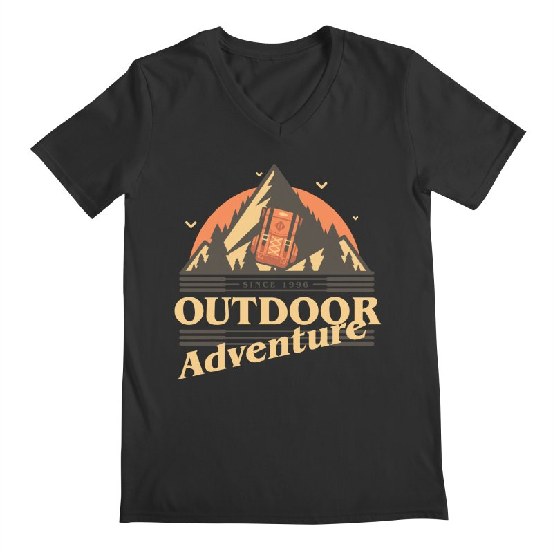 Outdoor Adventure Men's Regular V-Neck by Mountain View Co