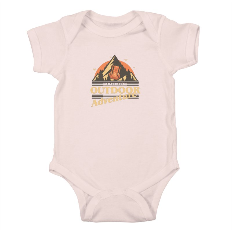 Outdoor Adventure Kids Baby Bodysuit by Mountain View Co