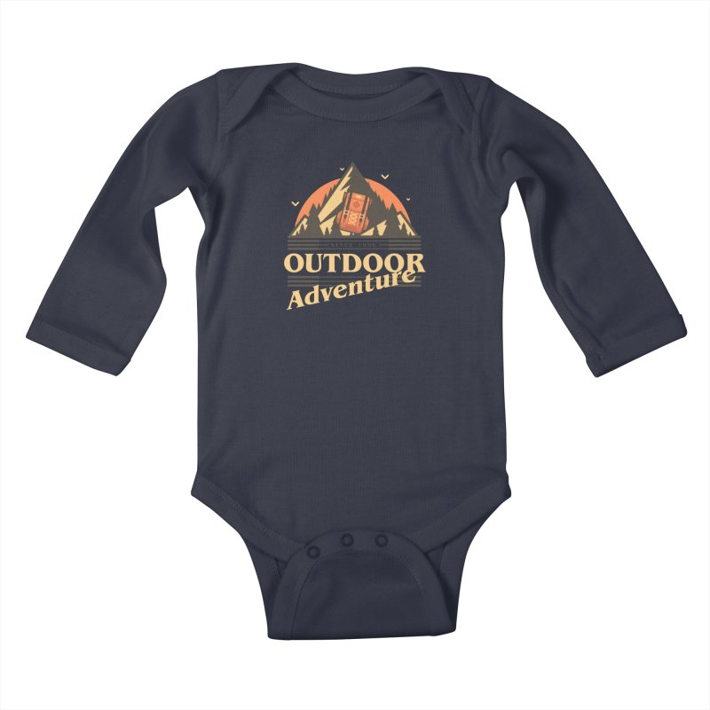 Outdoor Adventure Kids Baby Longsleeve Bodysuit by Mountain View Co
