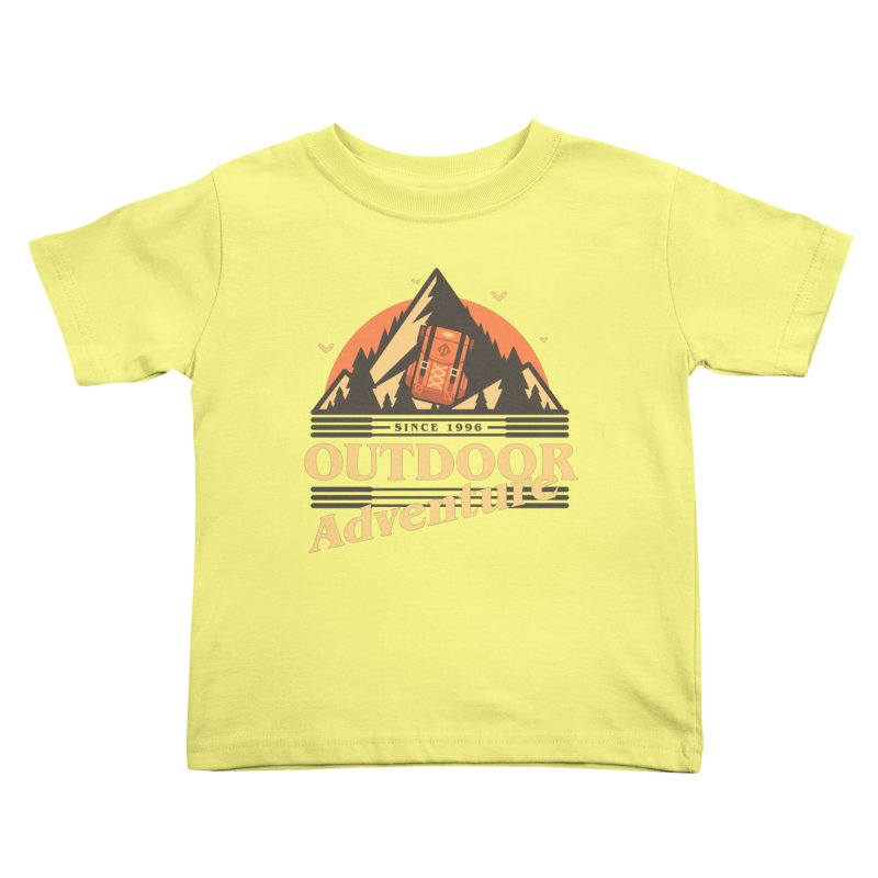 Outdoor Adventure Kids Toddler T-Shirt by Mountain View Co