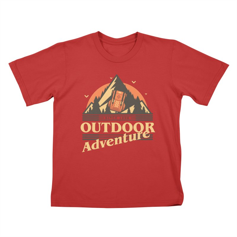 Outdoor Adventure Kids T-Shirt by Mountain View Co