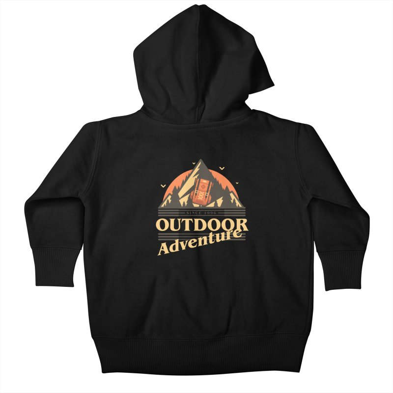 Outdoor Adventure Kids Baby Zip-Up Hoody by Mountain View Co