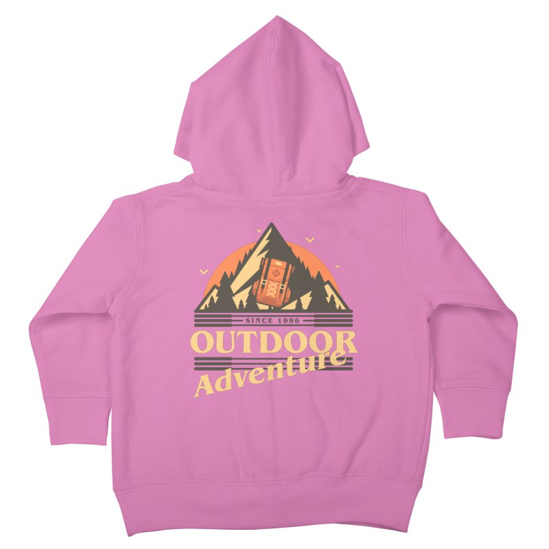 Outdoor Adventure Kids Toddler Zip-Up Hoody by Mountain View Co