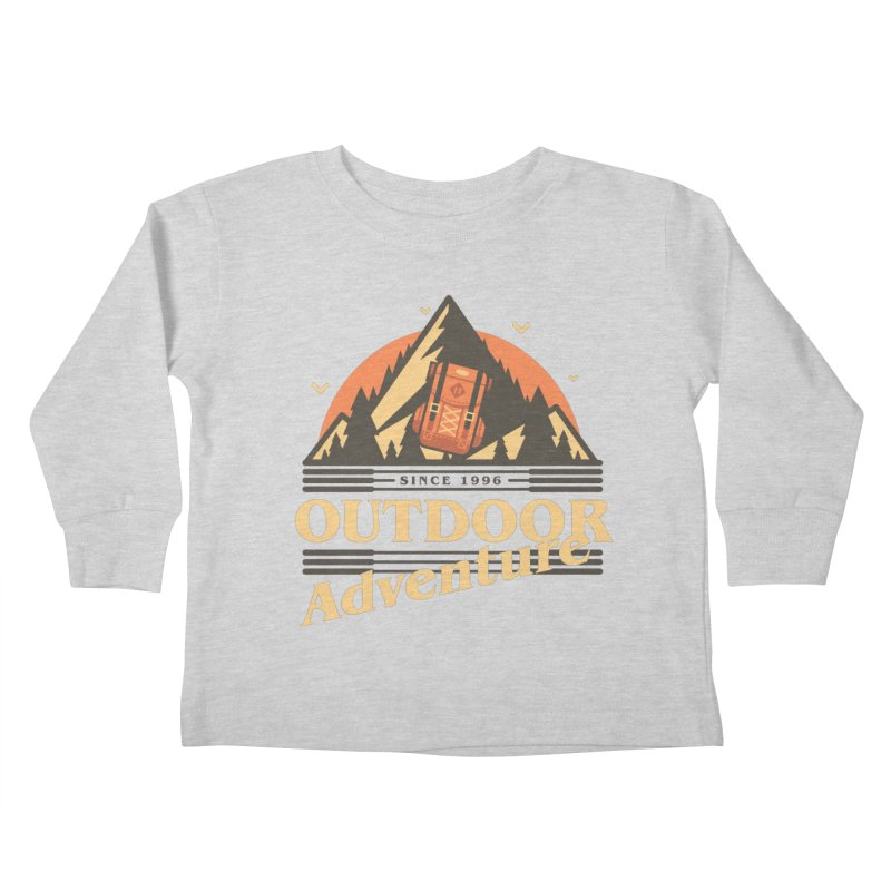 Outdoor Adventure Kids Toddler Longsleeve T-Shirt by Mountain View Co