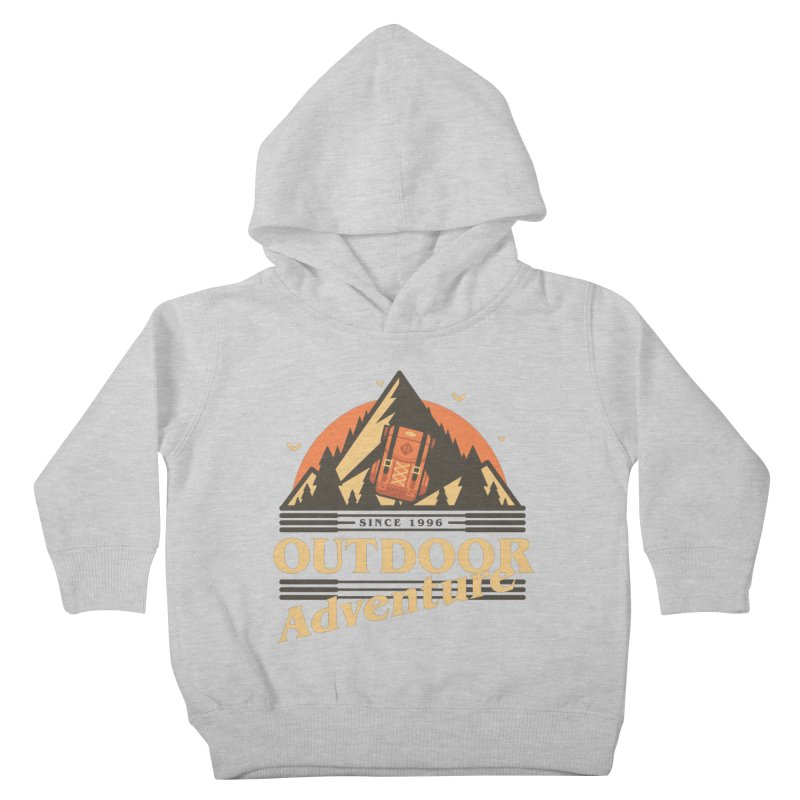 Outdoor Adventure Kids Toddler Pullover Hoody by Mountain View Co