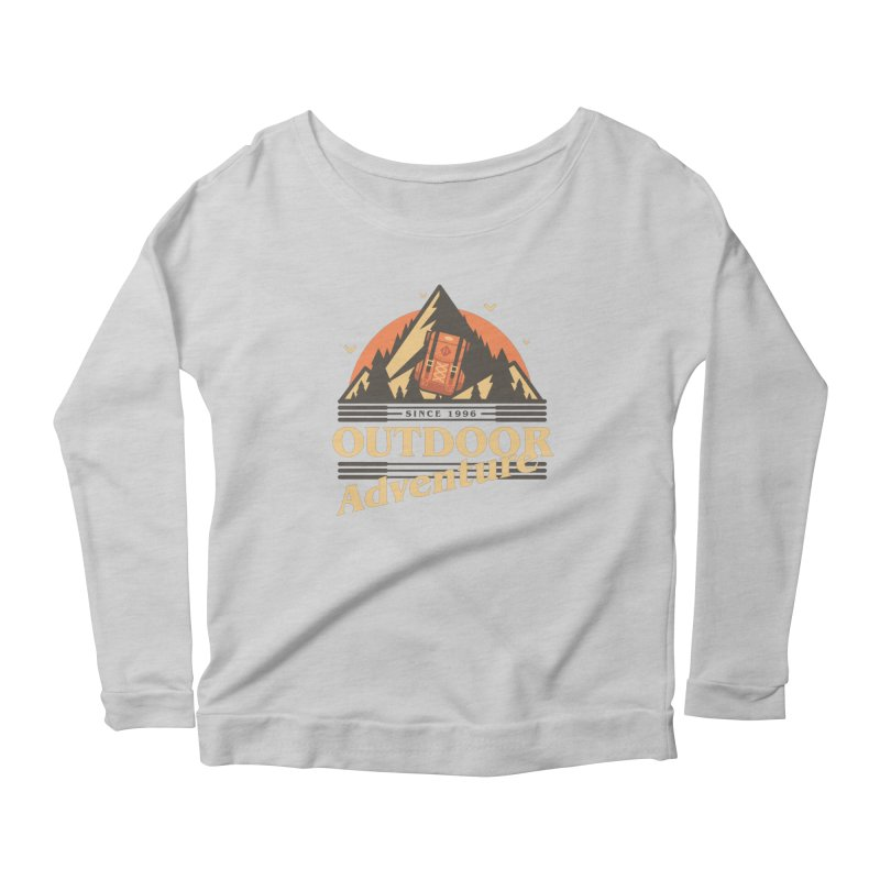 Outdoor Adventure Women's Scoop Neck Longsleeve T-Shirt by Mountain View Co