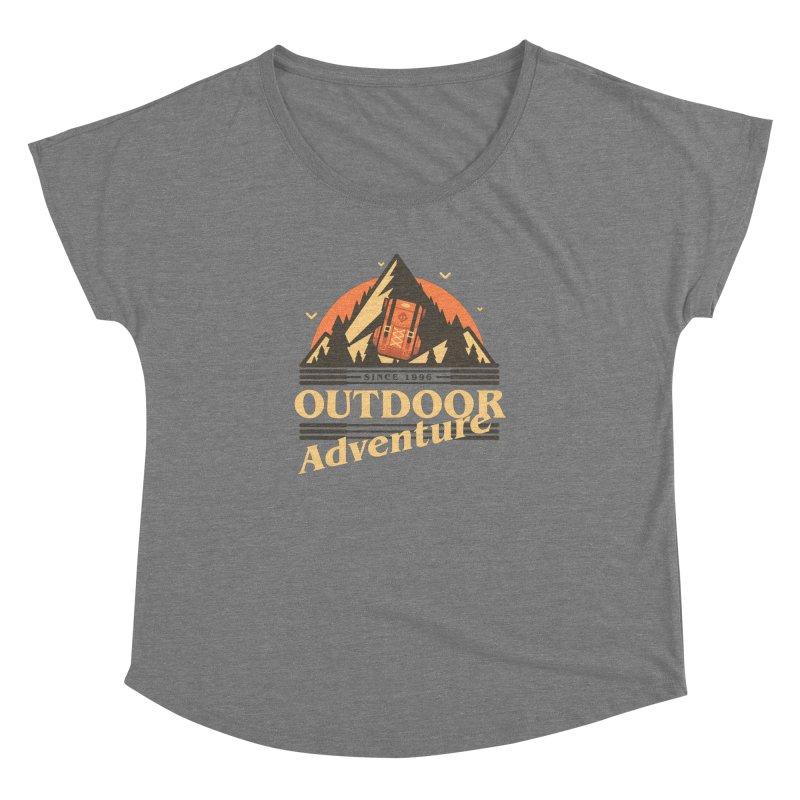 Outdoor Adventure Women's Dolman Scoop Neck by Mountain View Co