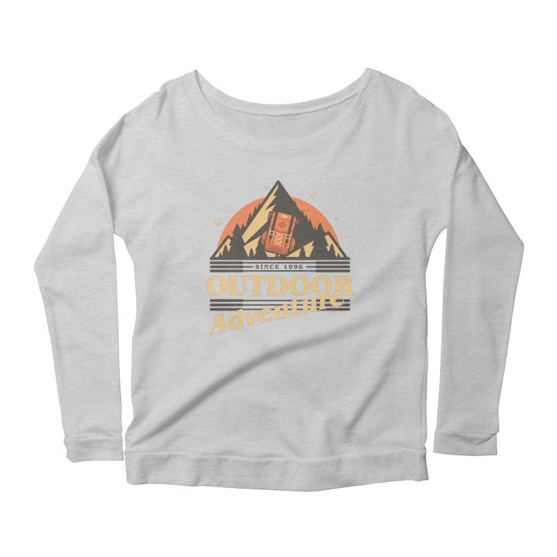 Outdoor Adventure Women's Scoop Neck Longsleeve T-Shirt by Mountain View Co