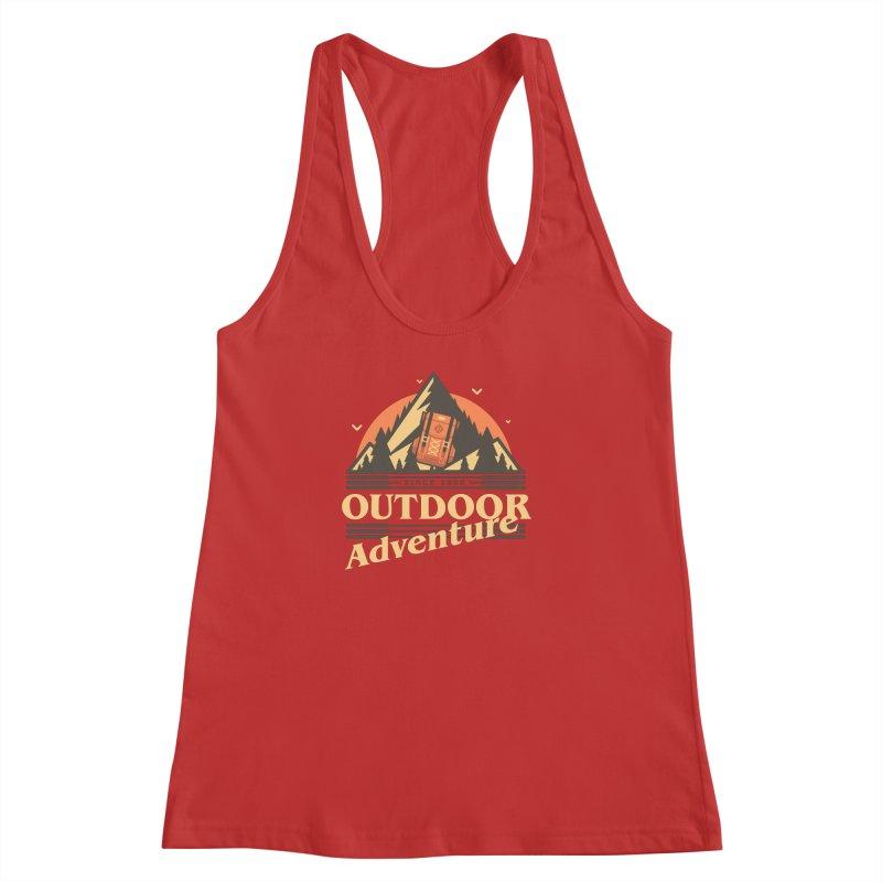 Outdoor Adventure Women's Racerback Tank by Mountain View Co