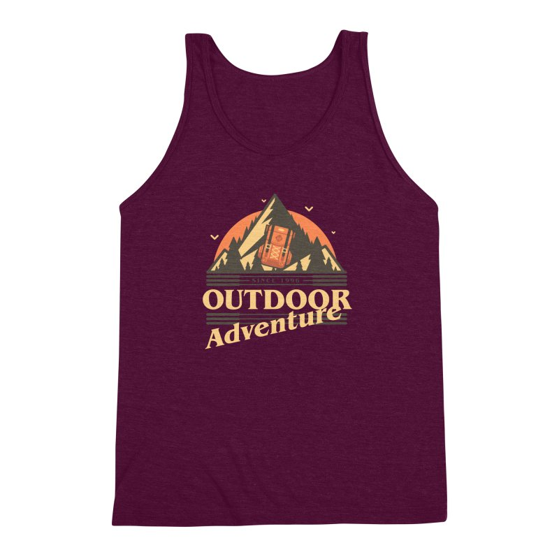 Outdoor Adventure Men's Triblend Tank by Mountain View Co