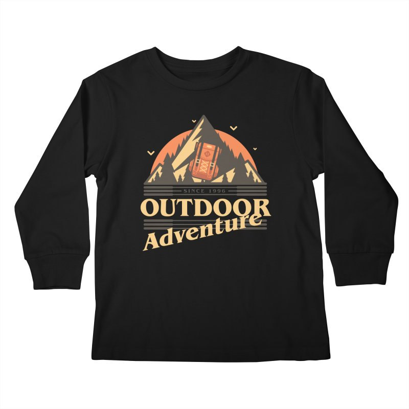 Outdoor Adventure Kids Longsleeve T-Shirt by Mountain View Co