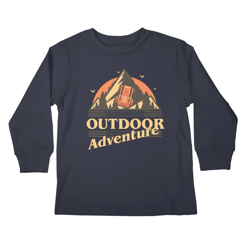 Outdoor Adventure Kids Longsleeve T-Shirt by Mountain View Co
