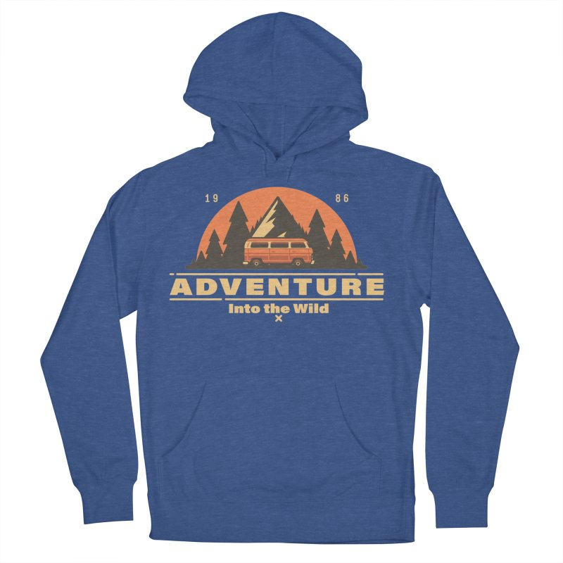Adventure into the Wild Men's French Terry Pullover Hoody by Mountain View Co
