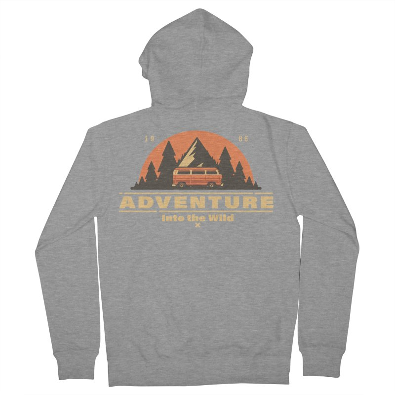 Adventure into the Wild Women's French Terry Zip-Up Hoody by Mountain View Co