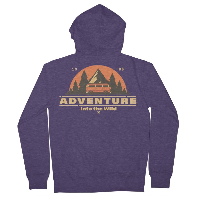 Adventure into the Wild Men's French Terry Zip-Up Hoody by Mountain View Co