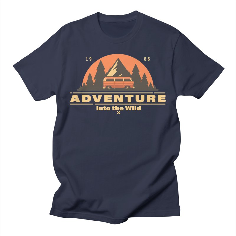 Adventure into the Wild Women's Regular Unisex T-Shirt by Mountain View Co