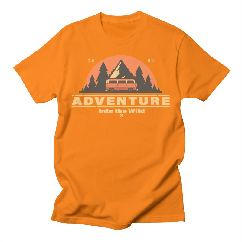 Adventure into the Wild Men's Regular T-Shirt by Mountain View Co