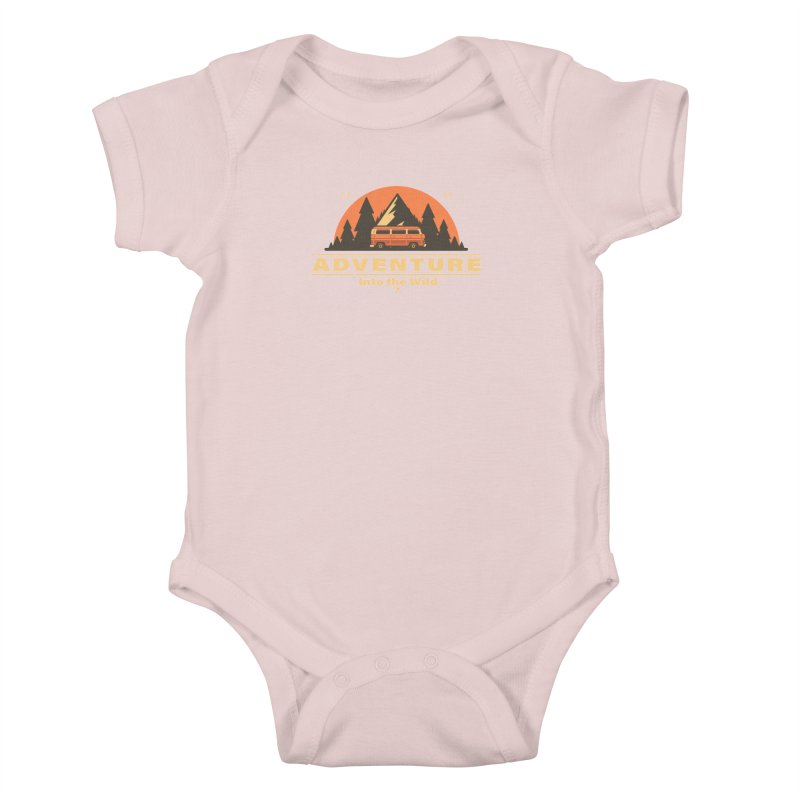 Adventure into the Wild Kids Baby Bodysuit by Mountain View Co