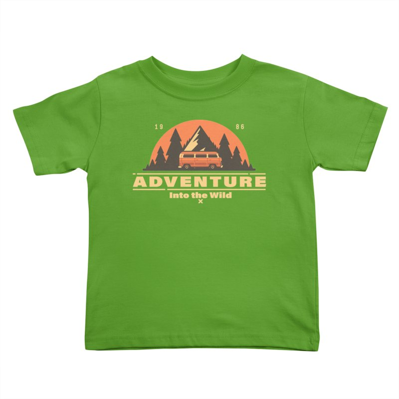 Adventure into the Wild Kids Toddler T-Shirt by Mountain View Co