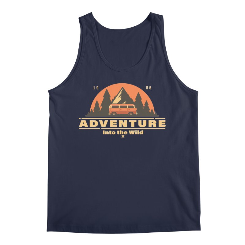 Adventure into the Wild Men's Regular Tank by Mountain View Co