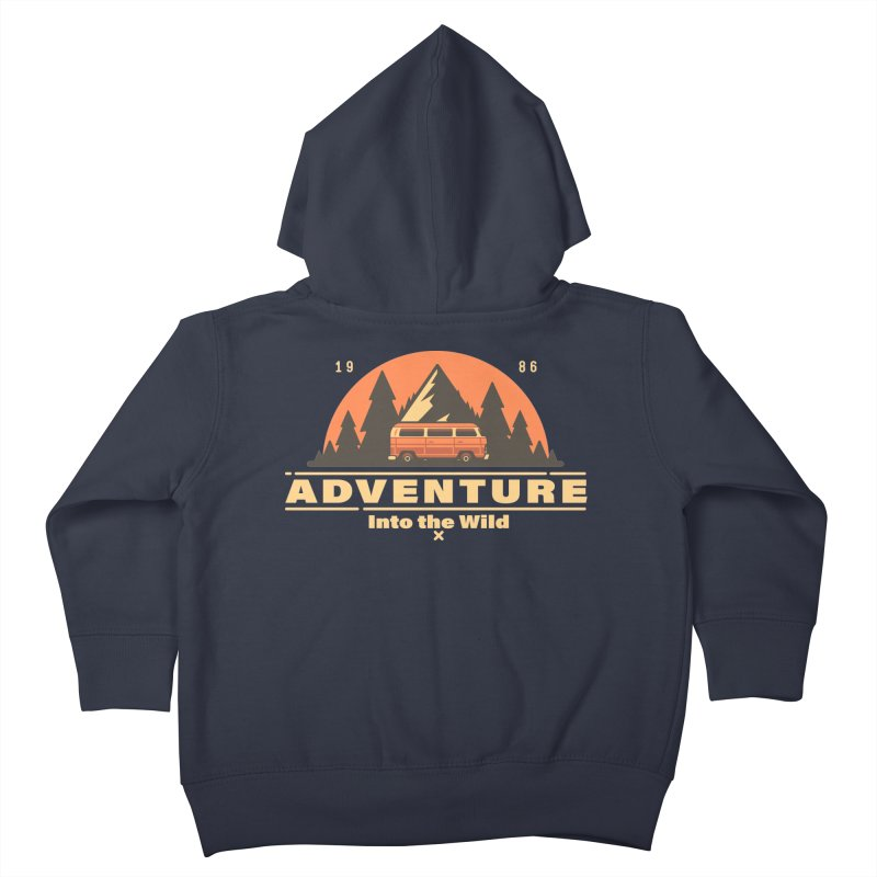 Adventure into the Wild Kids Toddler Zip-Up Hoody by Mountain View Co