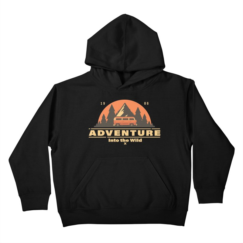 Adventure into the Wild Kids Pullover Hoody by Mountain View Co