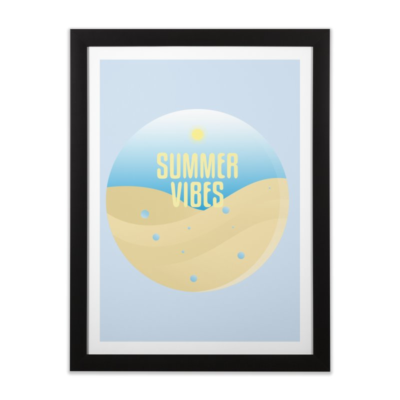 Summer Vibes Home Framed Fine Art Print by Mountain View Co