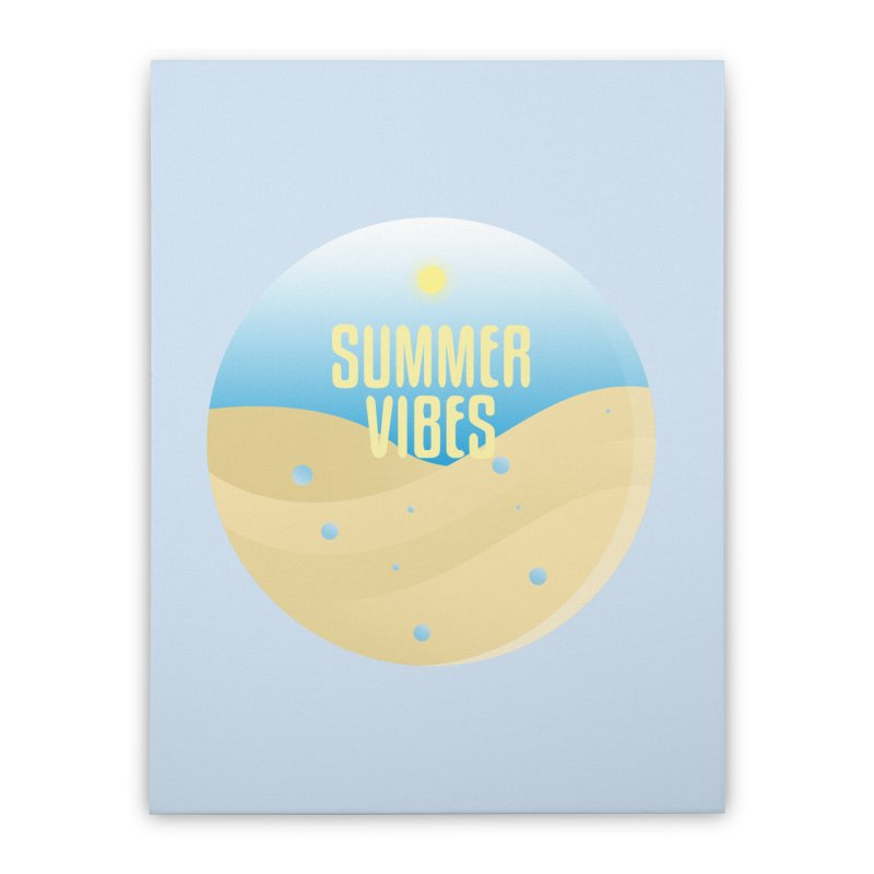 Summer Vibes Home Stretched Canvas by Mountain View Co