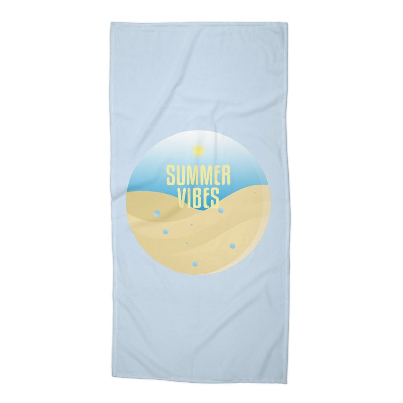 Summer Vibes Accessories Beach Towel by Mountain View Co