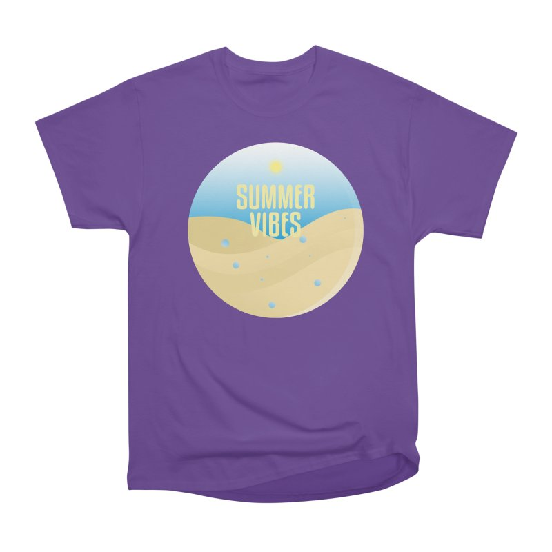 Summer Vibes Women's Heavyweight Unisex T-Shirt by Mountain View Co