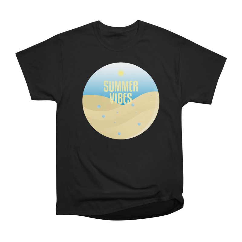 Summer Vibes Women's Heavyweight Unisex T-Shirt by Mountain View Co