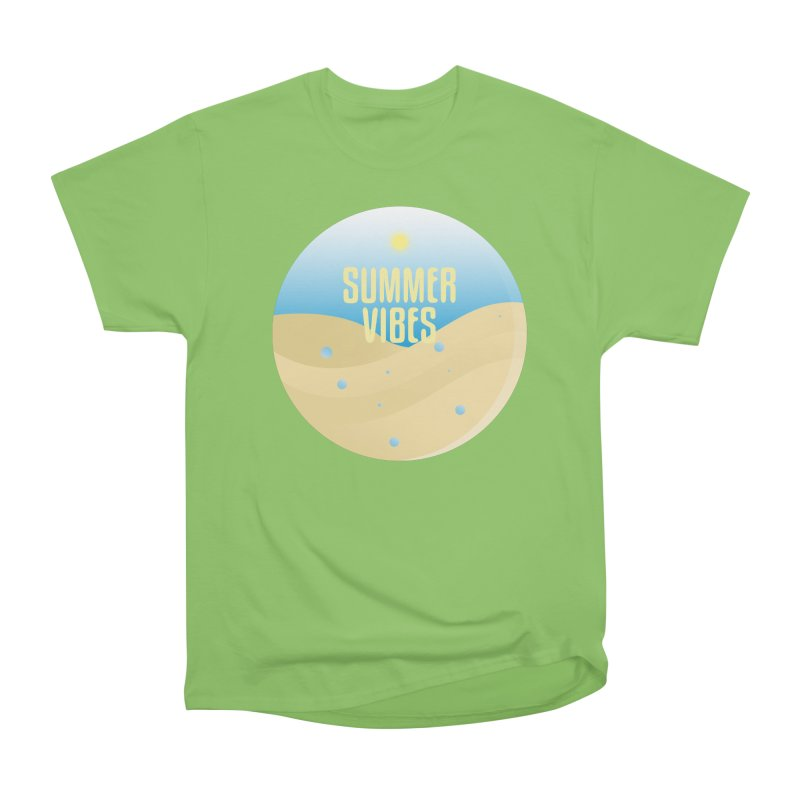 Summer Vibes Men's Heavyweight T-Shirt by Mountain View Co