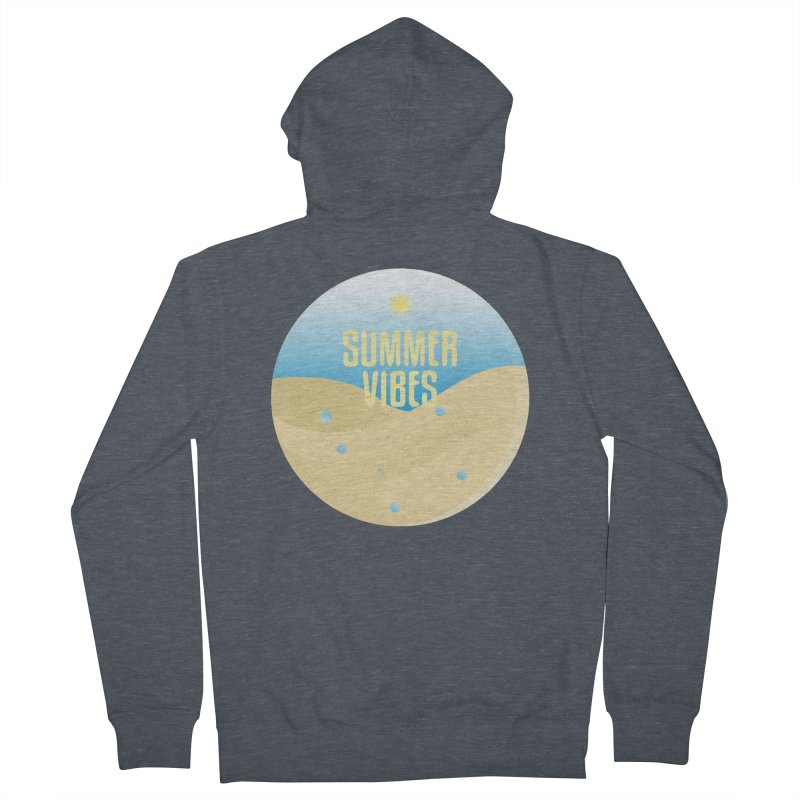 Summer Vibes Women's French Terry Zip-Up Hoody by Mountain View Co