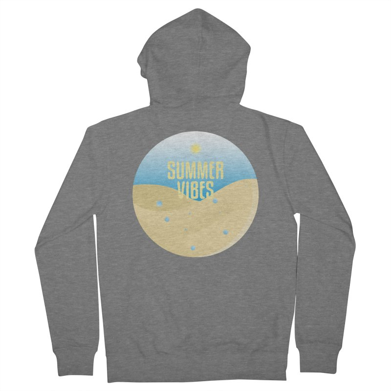 Summer Vibes Men's French Terry Zip-Up Hoody by Mountain View Co