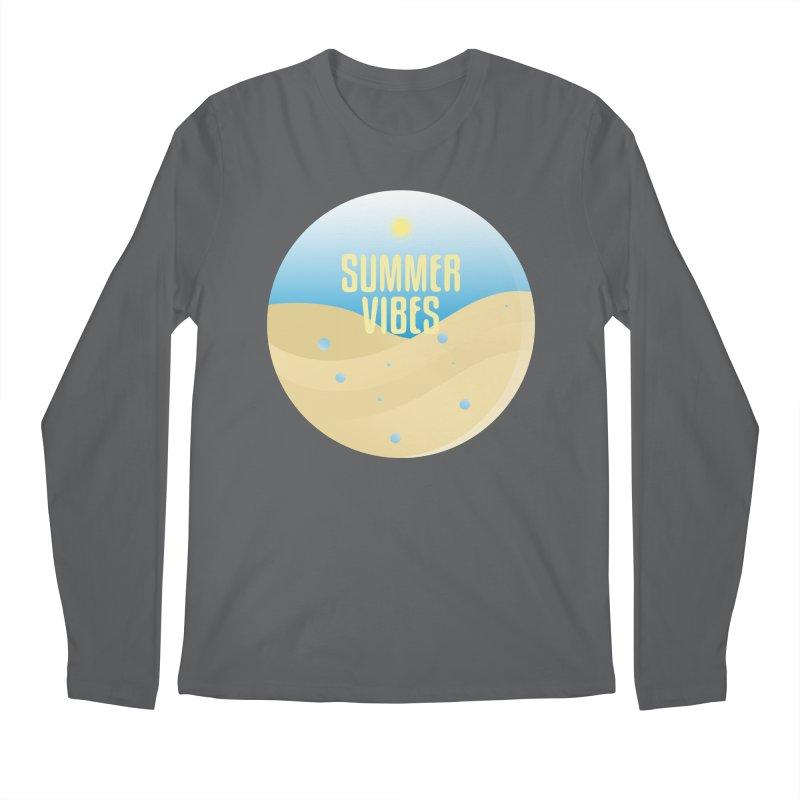 Summer Vibes Men's Regular Longsleeve T-Shirt by Mountain View Co