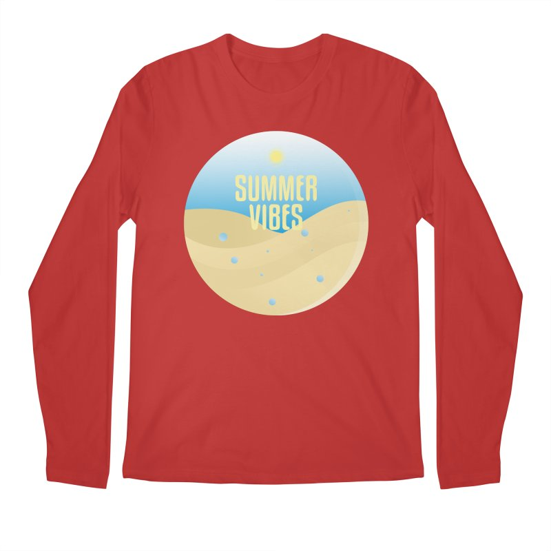 Summer Vibes Men's Regular Longsleeve T-Shirt by Mountain View Co