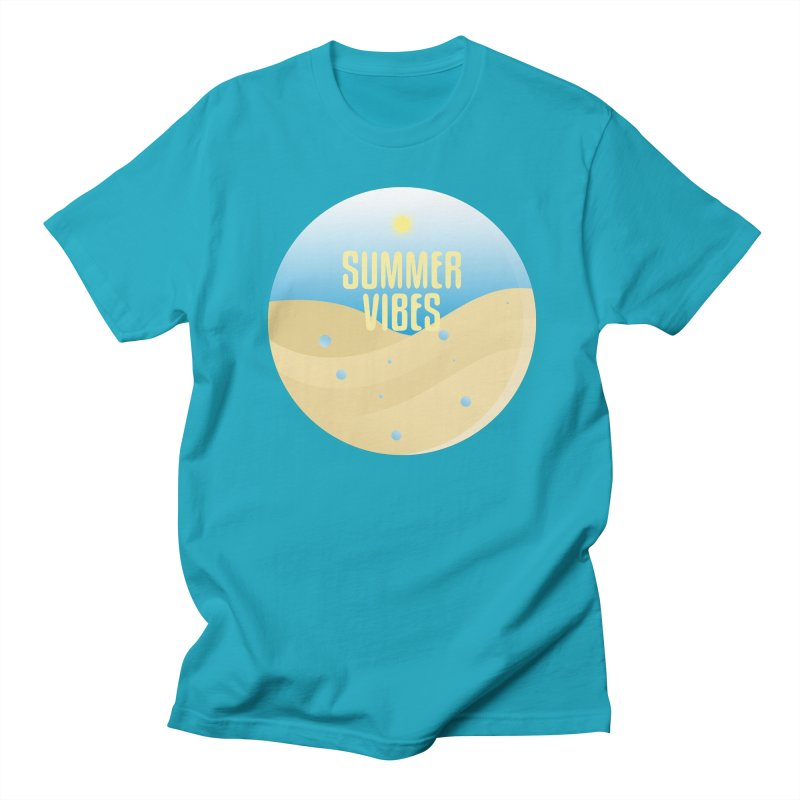Summer Vibes Women's Regular Unisex T-Shirt by Mountain View Co