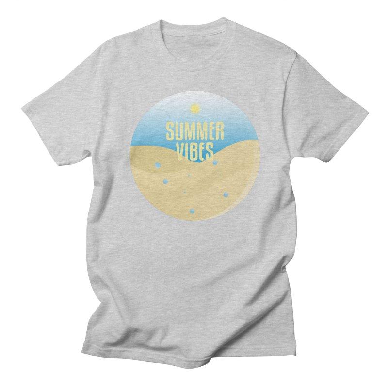 Summer Vibes Men's Regular T-Shirt by Mountain View Co