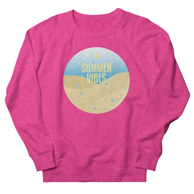 Summer Vibes Women's French Terry Sweatshirt by Mountain View Co