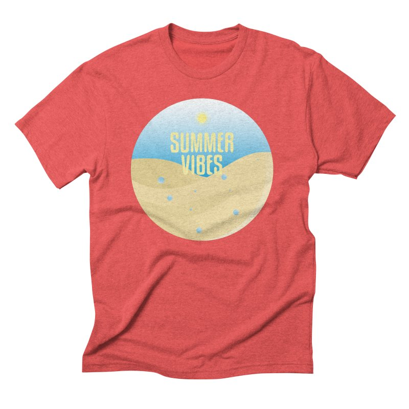 Summer Vibes Men's Triblend T-Shirt by Mountain View Co