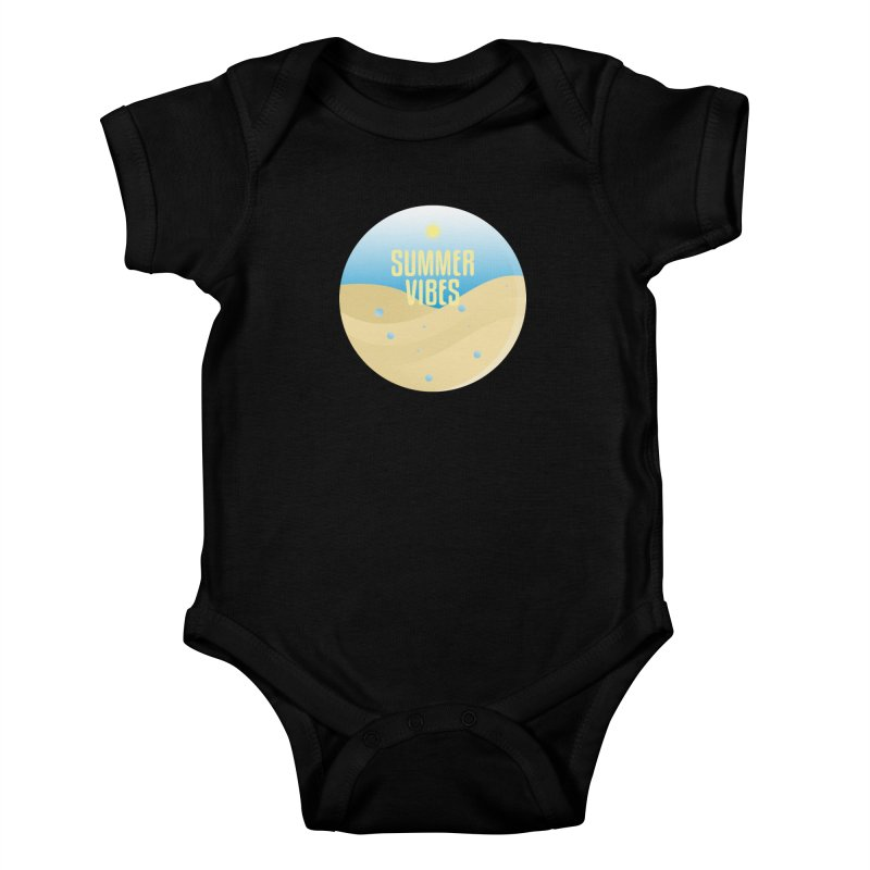 Summer Vibes Kids Baby Bodysuit by Mountain View Co