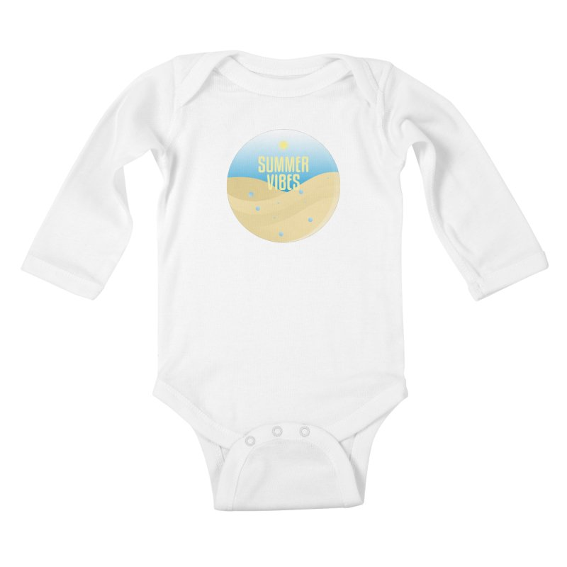 Summer Vibes Kids Baby Longsleeve Bodysuit by Mountain View Co