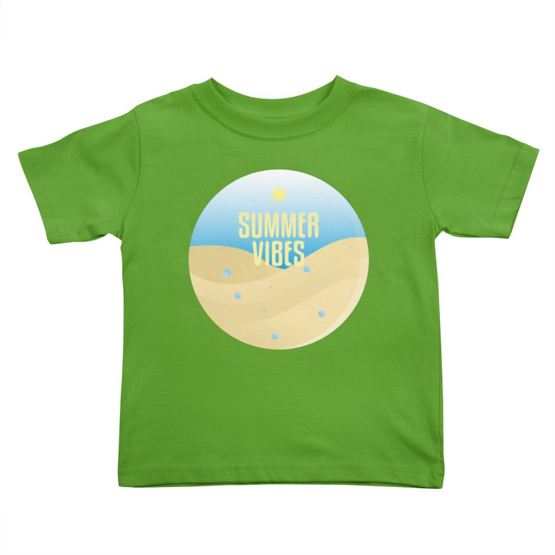 Summer Vibes Kids Toddler T-Shirt by Mountain View Co