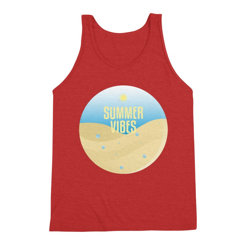Summer Vibes Men's Triblend Tank by Mountain View Co