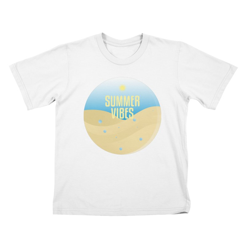 Summer Vibes Kids T-Shirt by Mountain View Co