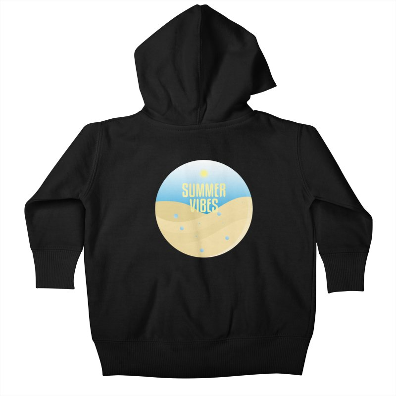 Summer Vibes Kids Baby Zip-Up Hoody by Mountain View Co