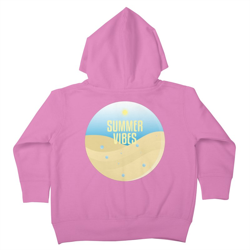 Summer Vibes Kids Toddler Zip-Up Hoody by Mountain View Co