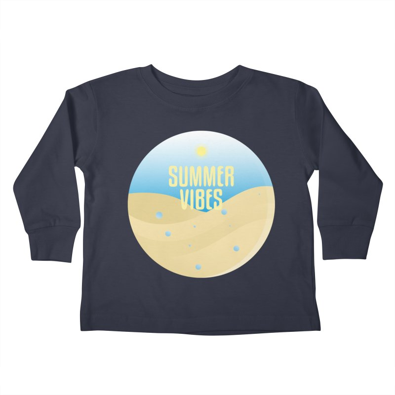 Summer Vibes Kids Toddler Longsleeve T-Shirt by Mountain View Co