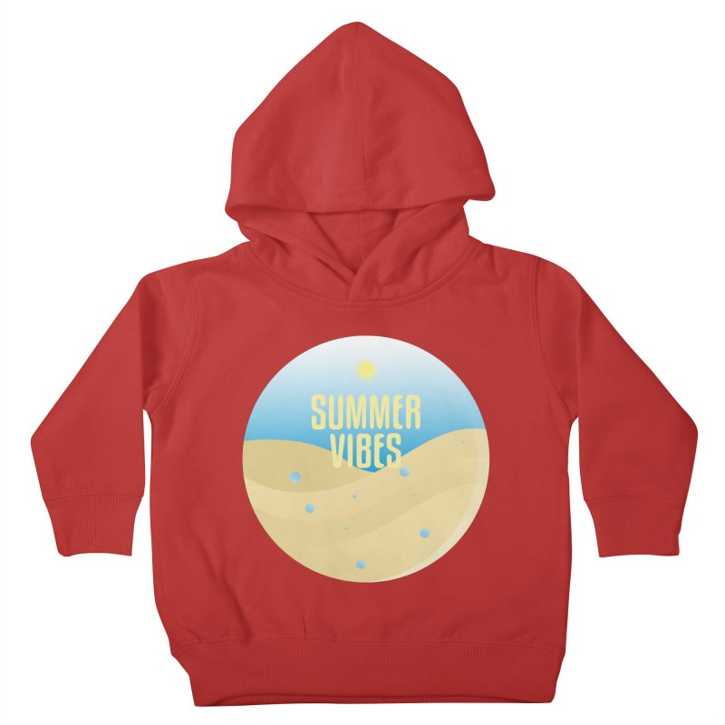 Summer Vibes Kids Toddler Pullover Hoody by Mountain View Co